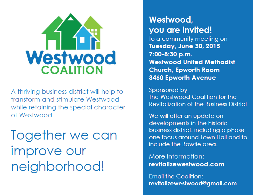Meeting Revitalize Westwood